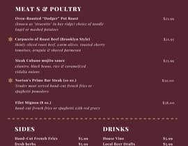 jaballifiras tarafından Design a menu card için no 18