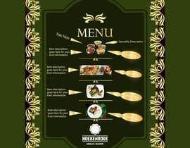 atwebdp tarafından Design a menu card için no 7