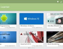 MahmoudEG tarafından Design a Mockup for Media App için no 4