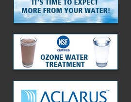 IronUra tarafından Web Banner Design GIF Ozone Water Company için no 7