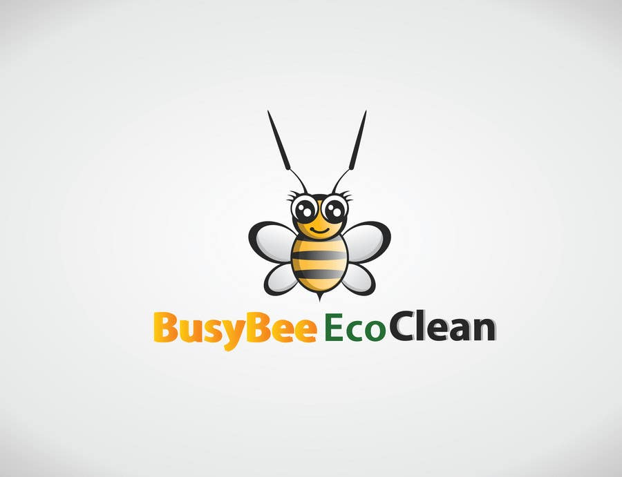 Конкурсная заявка №354 для Logo Design for BusyBee Eco Clean. An environmentally friendly cleaning company
