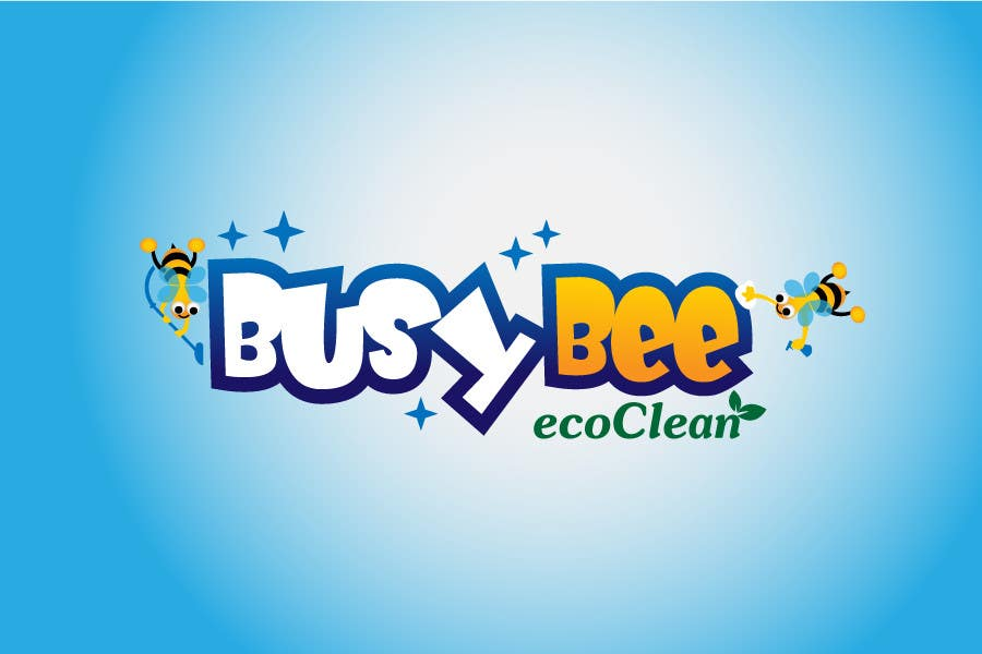 Конкурсная заявка №315 для Logo Design for BusyBee Eco Clean. An environmentally friendly cleaning company