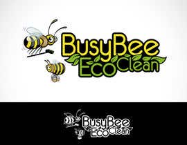 Mackenshin tarafından Logo Design for BusyBee Eco Clean. An environmentally friendly cleaning company için no 355