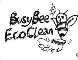 jamesant tarafından Logo Design for BusyBee Eco Clean. An environmentally friendly cleaning company için no 350