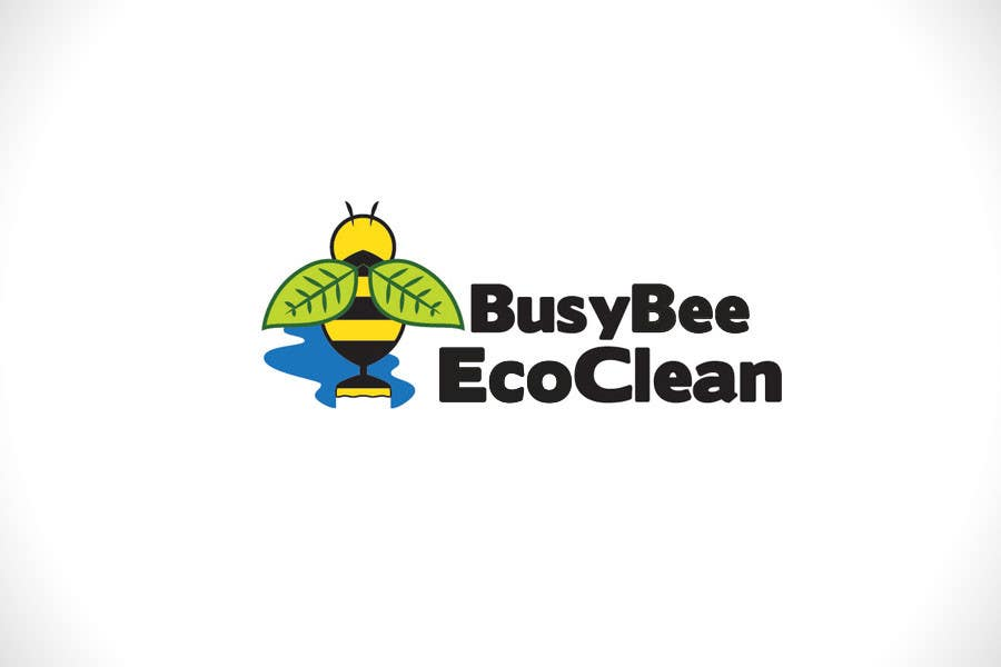 Конкурсная заявка №328 для Logo Design for BusyBee Eco Clean. An environmentally friendly cleaning company