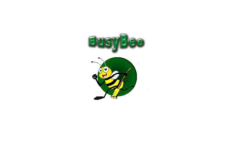 Конкурсная заявка №325 для Logo Design for BusyBee Eco Clean. An environmentally friendly cleaning company