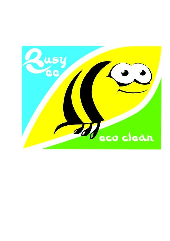 Конкурсная заявка №331 для Logo Design for BusyBee Eco Clean. An environmentally friendly cleaning company