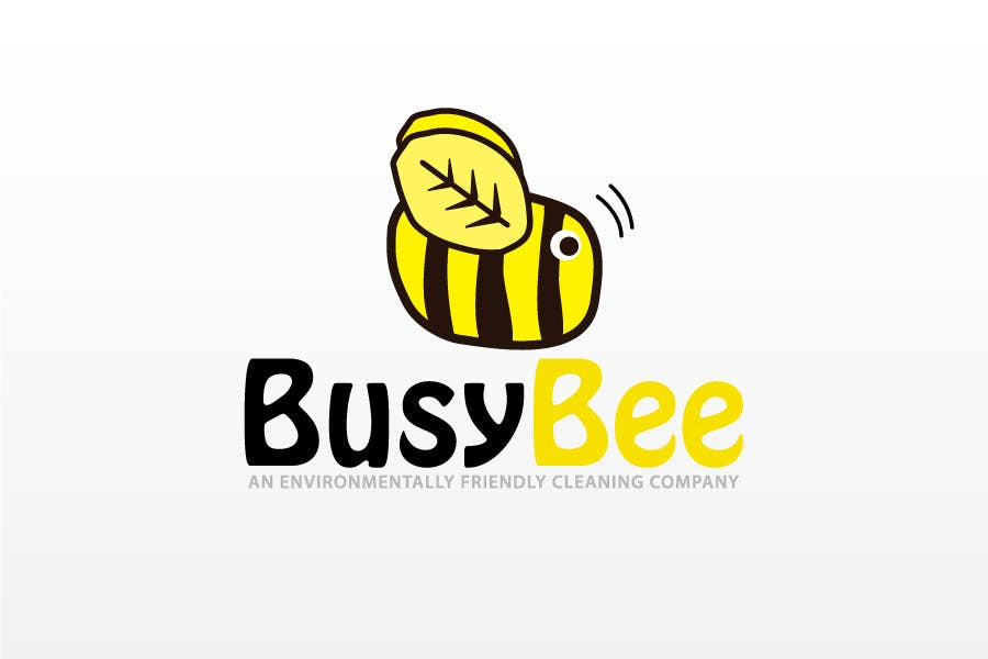 Contest Entry #                                        199                                      for                                         Logo Design for BusyBee Eco Clean. An environmentally friendly cleaning company