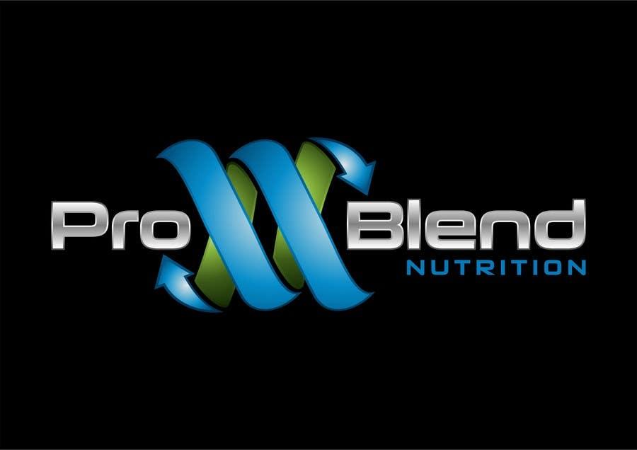 #588 for Design a Logo for PRO-BLEND NUTRITION by alkalifi