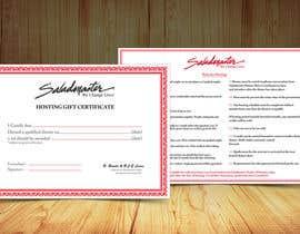 Modeling15 tarafından Design a certificate için no 5