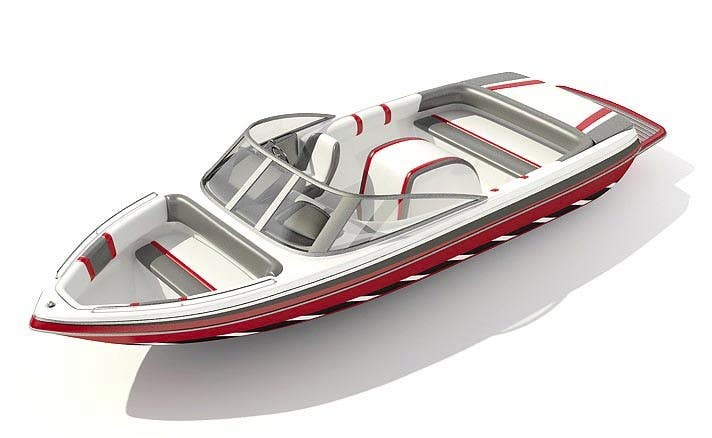 #19 for Concept Boat Design - 1 concept only by nishu90