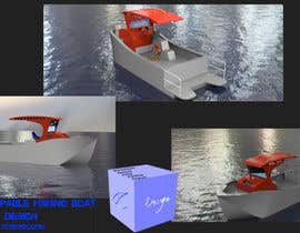 #12 for Concept Boat Design - 1 concept only by tobiasclarke