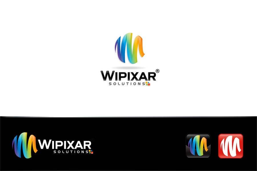Penyertaan Peraduan #77 untuk Wipixar Solutions Logo Design