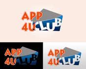 Graphic Design Kilpailutyö #242 kilpailuun Logo Design for App 4 u Club