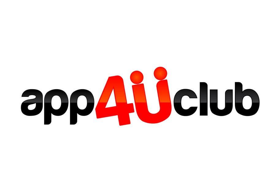 Kilpailutyö #408 kilpailussa Logo Design for App 4 u Club