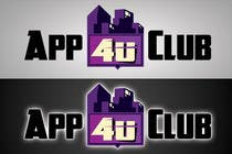 Graphic Design Kilpailutyö #214 kilpailuun Logo Design for App 4 u Club