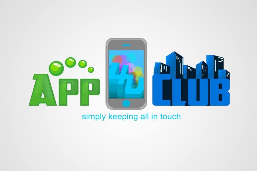 Contest Entry #281 for Logo Design for App 4 u Club