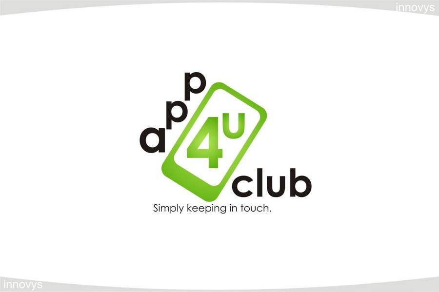 Contest Entry #445 for Logo Design for App 4 u Club