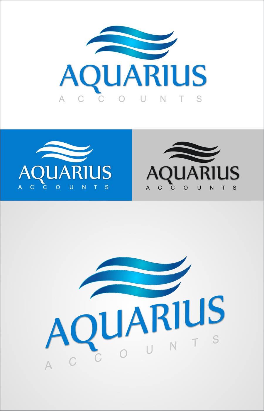 #232 for Design a Logo for Aquarius Accounts by premkumar112