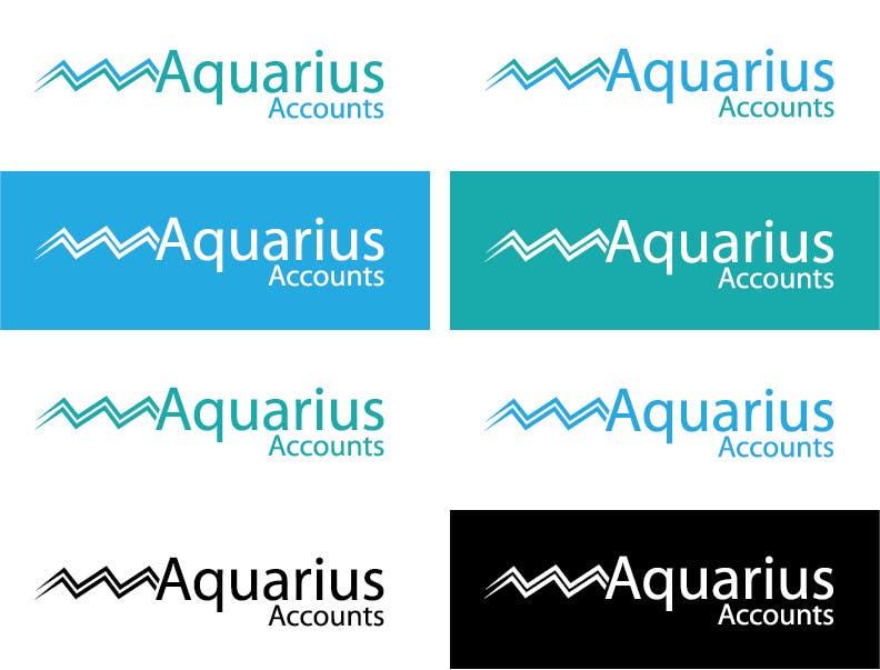 #206 for Design a Logo for Aquarius Accounts by lucaskais