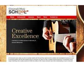 #6 for Update website for Crossroads music school by eniyavants