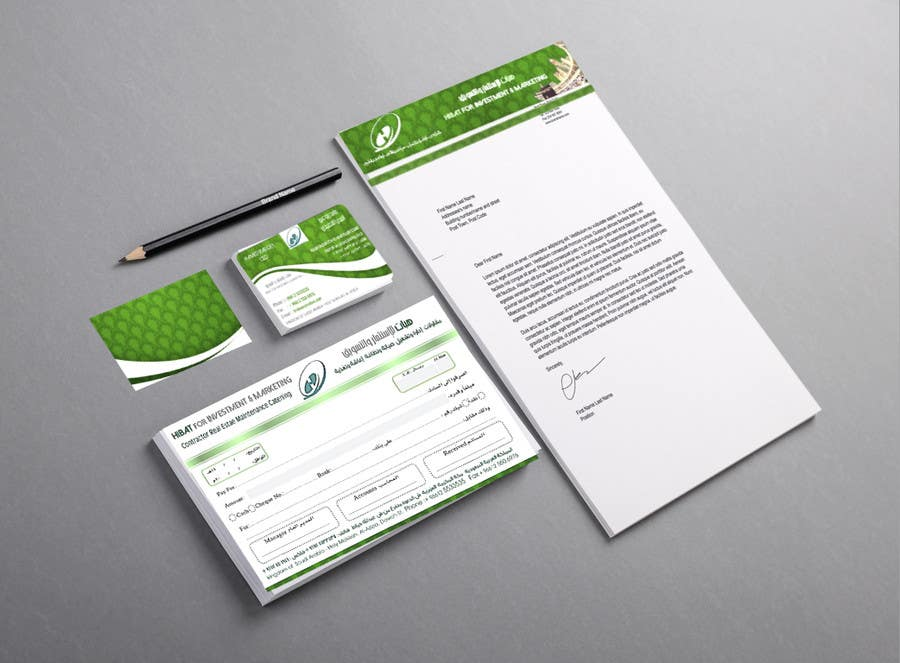 Design Business Cards Receipt and and header sample for a company – Receipt Design