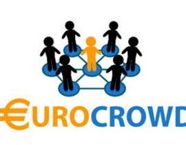 #35 for Design a logo for EUROCROWD af Stevieyuki