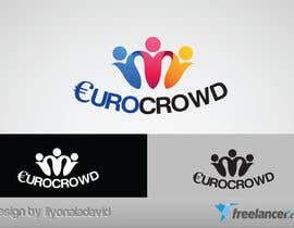 #98 para Design a logo for EUROCROWD por liyonaladavid