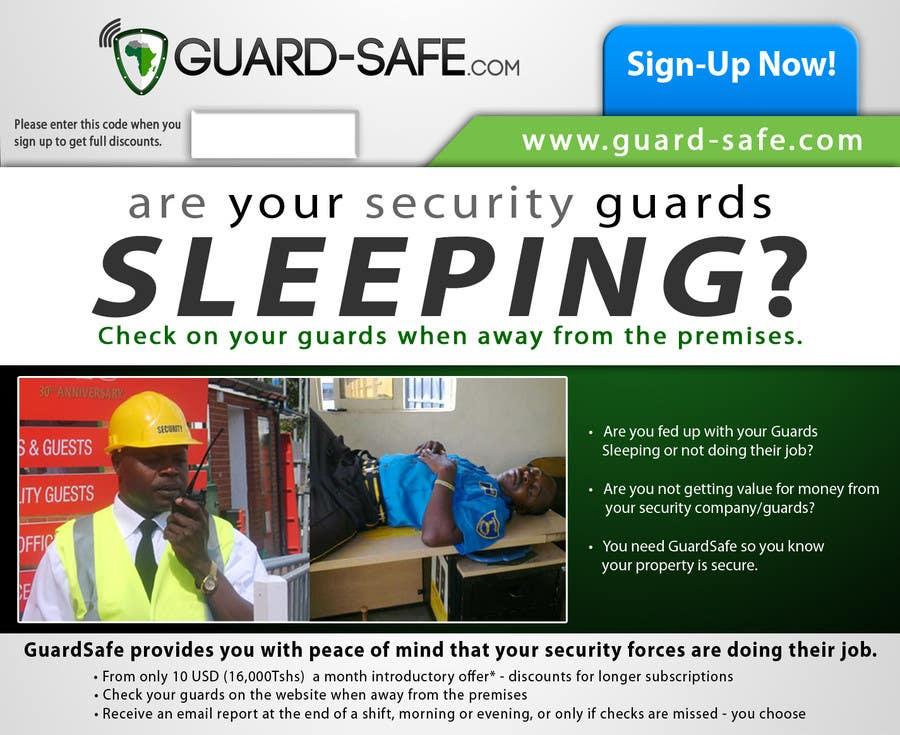 Inscrição nº 30 do Concurso para I need some Graphic Design for www.guard-safe.com