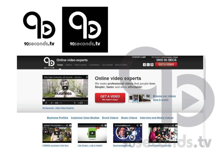 #99 for Design a Fresh Logo for 90 Seconds by calvograficos