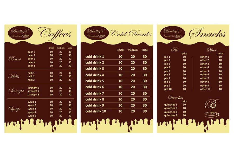 Entri Kontes #                                        23                                      untuk                                        Graphic Design for Bentley's Chocolate Bar