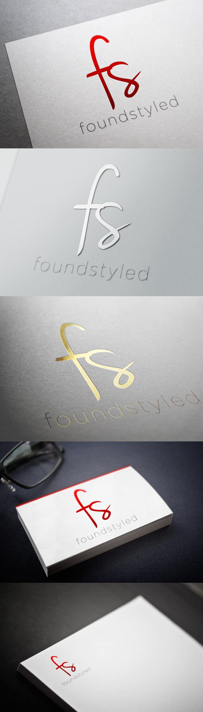 #22 for Design a Logo for 'foundstyled' by toybox29