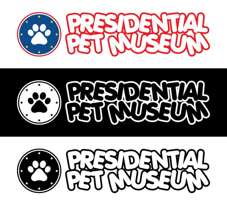 #114 for Design a Logo for Presidential Pet Museum by cwyee512