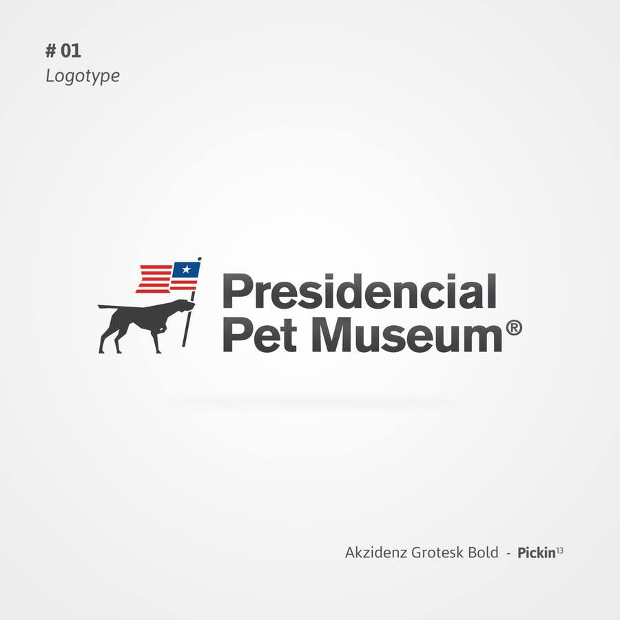 #125 for Design a Logo for Presidential Pet Museum by pickinstudio