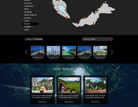#14 para Design a Responsive Website Mockup for Tourism (Wire-frame Provided) por elshahat