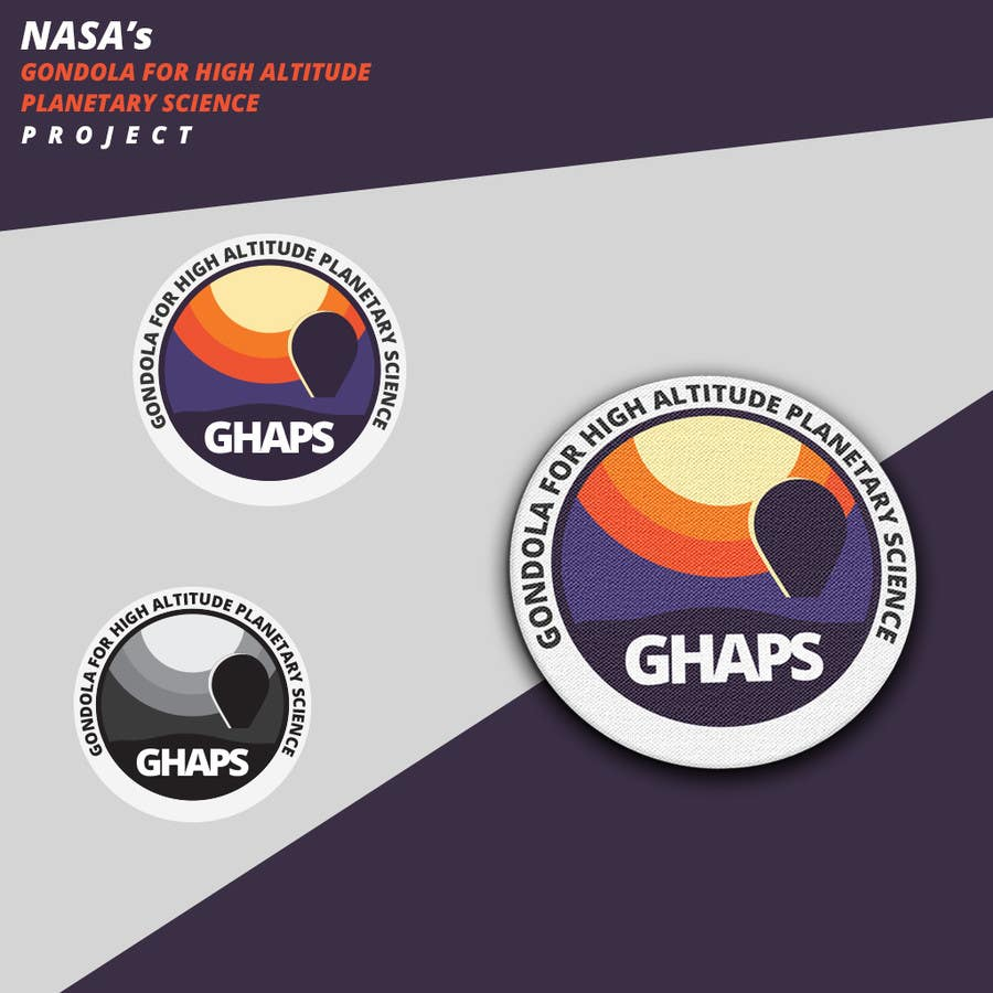 Contest Entry #56 for NASA Challenge: Design a Logo for NASA's Gondola for High Altitude Planetary Science (GHAPS) Project