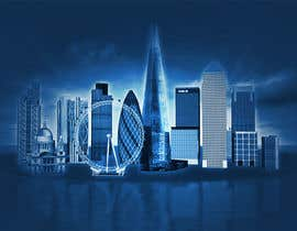 #27 cho Create a composite landing page image of the London financial skyline bởi anamiruna
