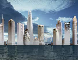 #50 for Create a composite landing page image of the London financial skyline af jingguo811