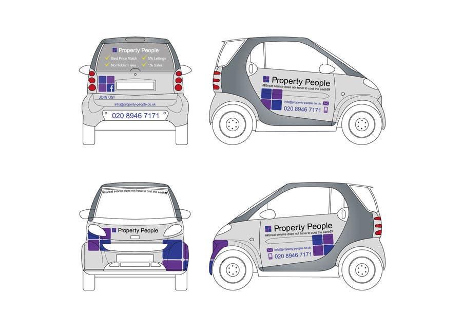 Kilpailutyö #4 kilpailussa I need some Graphic Design for a company car