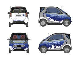 nº 20 pour I need some Graphic Design for a company car par anamiruna