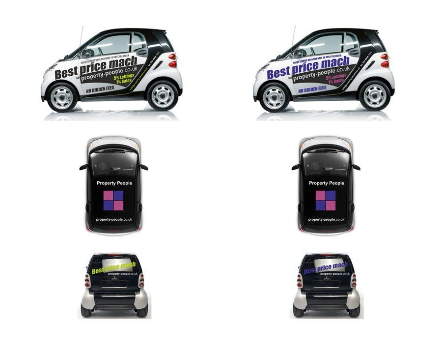 Kilpailutyö #14 kilpailussa I need some Graphic Design for a company car