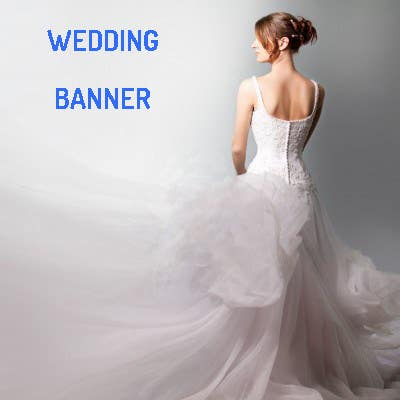 #2 for i need 5 wedding banners designed by cretualex08