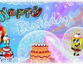 #19 para i need 5 designs for birthday banners por virgonita