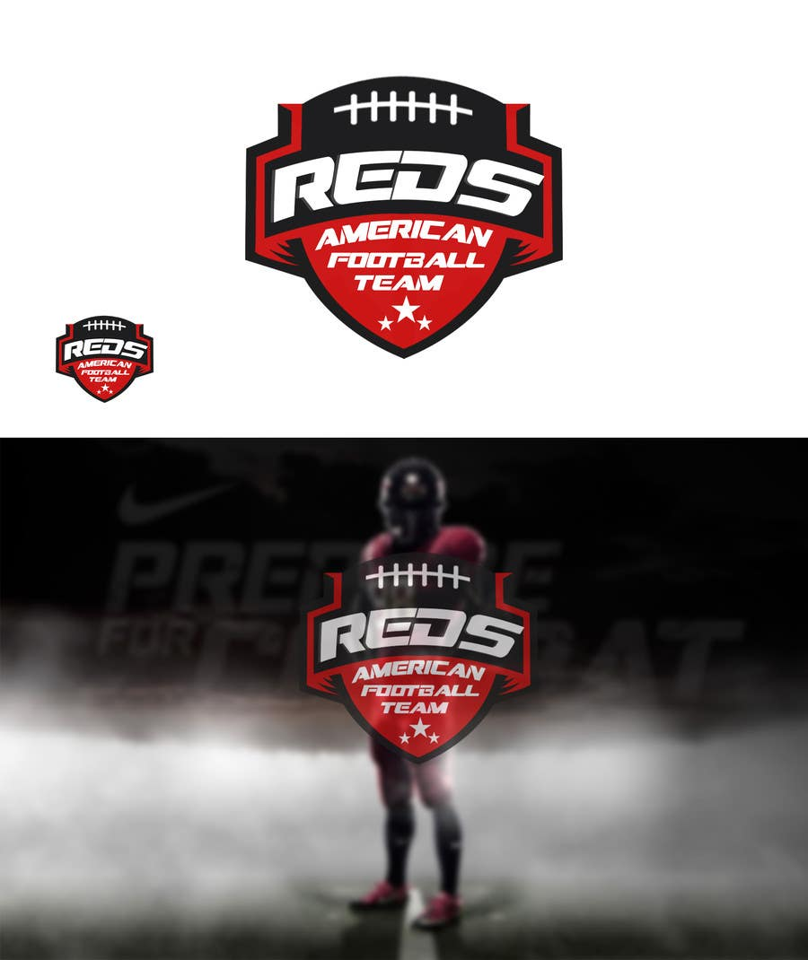 Entry 1 By Edesignmk For American Football Team Logo Design
