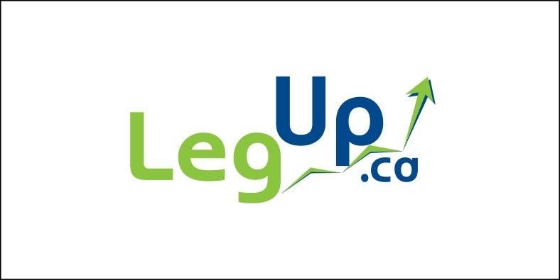 """Konkurrenceindlæg #180 for Design a Logo for Crowdfunding Site """"LegUp.ca"""""""