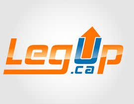 "nº 26 pour Design a Logo for Crowdfunding Site ""LegUp.ca"" par creativdiz"
