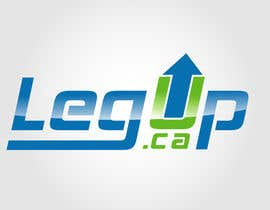 "nº 31 pour Design a Logo for Crowdfunding Site ""LegUp.ca"" par creativdiz"