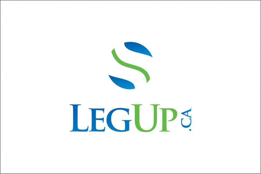 """Konkurrenceindlæg #57 for Design a Logo for Crowdfunding Site """"LegUp.ca"""""""