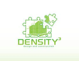 #8 para Density3 Design and Construction Logo design por fatamorgana
