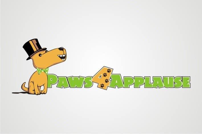 Penyertaan Peraduan #                                        36                                      untuk                                         Logo Design for Paws 4 Applause Dog Grooming